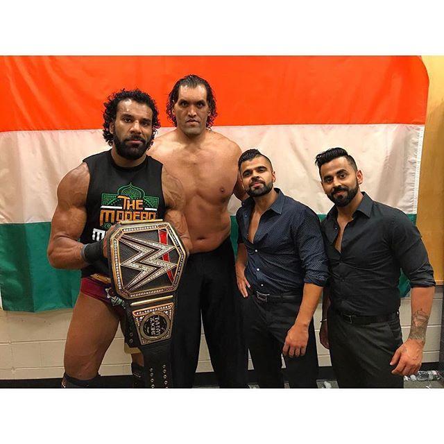 WWE Superstar Jinder Mahal Salary in INR