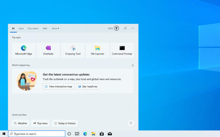 Windows 10 Insider Preview Build 19619