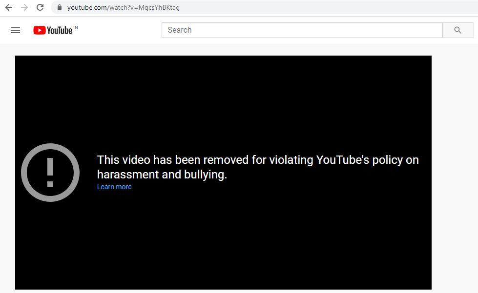 YouTube vs Tik Tok: The End video.