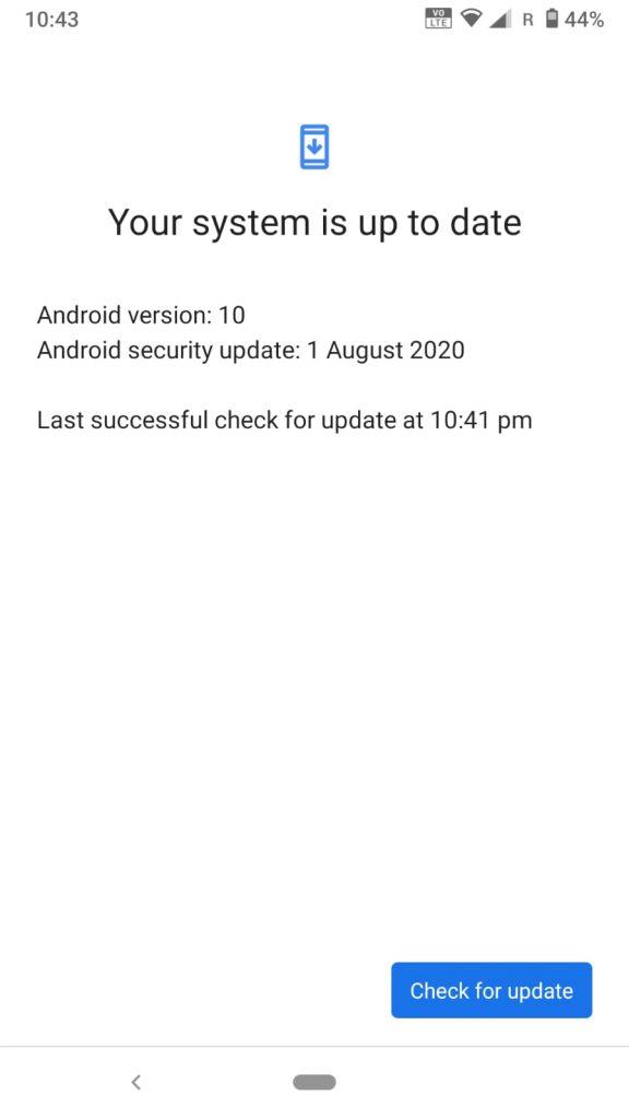 Nokia 6.1 Software Update 00WW_4_15C_SP03